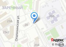 Компания «Автостоянка на Опалихинской» на карте
