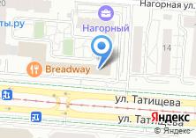 Компания «Автостоянка на ул. Татищева» на карте