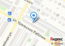Компания «Уголовно-исполнительная инспекция ГУФСИН» на карте