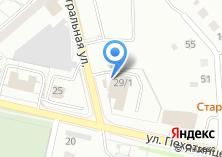 Компания «Автостоянка на ул. Пехотинцев» на карте
