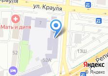 Компания «Уральский технический институт связи и информатики» на карте