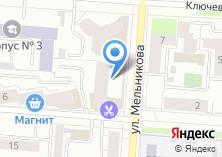 Компания «Строящийся жилой дом по ул. Мельникова» на карте