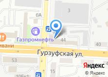 Компания «УралМебельТорг» на карте