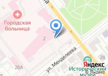 Компания «Верхнепышминская центральная городская больница» на карте