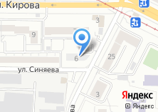 Компания «Строящееся административное здание по ул. Синяева» на карте