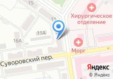 Компания «Уральский банк Сбербанка России Северное отделение №4903» на карте