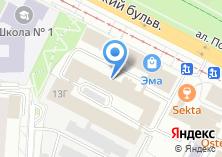 Компания «Новаком» на карте