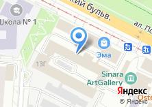 Компания «Констрактор» на карте