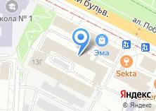 Компания «Терконт» на карте