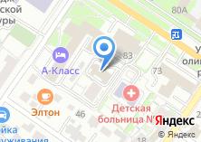Компания «Технотел» на карте