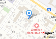 Компания «Коркинская» на карте