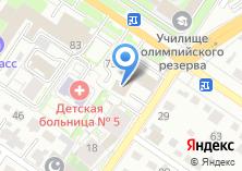 Компания «Межрегионснаб» на карте