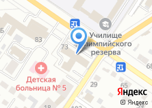Компания «Салон-ателье чародеи» на карте
