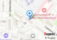 Компания «Урал-Рос» на карте
