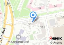 Компания «Фаворит Техно Сибирь» на карте