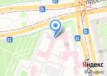 Компания «Клиника УНИИТО» на карте