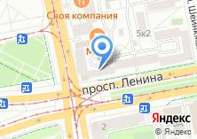 Компания «COME IN» на карте