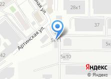Компания «Промкомплект» на карте