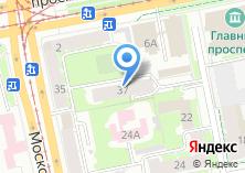 Компания «Московская 37» на карте