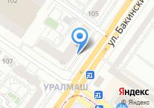 Компания «Строящийся жилой дом по ул. Бакинских Комиссаров» на карте