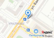 Компания «Бакинский перекрёсток» на карте