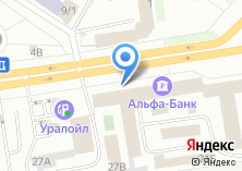 Компания «Уральский завод цветных металлов» на карте