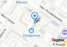 Компания «Огнеборец» на карте