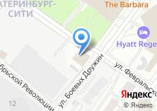 Компания «Национально-культурная автономия татар Свердловской области» на карте