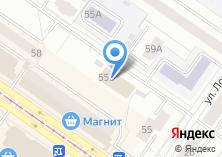 Компания «КИРА» на карте