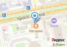Компания «Интерфакс-Урал» на карте