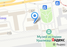 Компания «Уралпроммаш» на карте