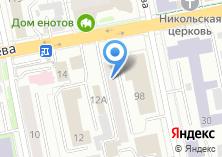 Компания «Уралремстрой» на карте