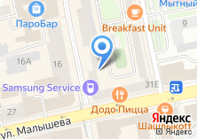 Компания «Русский лён» на карте