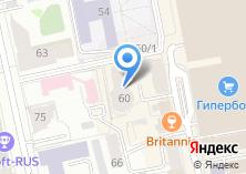 Компания «Вайнера 60» на карте