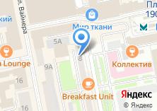 Компания «МДМ банк» на карте