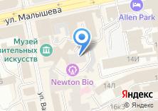 Компания «Уральская палата поддержки предпринимательства» на карте