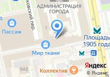 Компания «Мир пальто» на карте