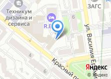 Компания «Уралреклама» на карте