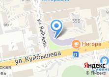 Компания «Геологическое предприятие Свердловский территориальный центр обеспечения природопользования» на карте