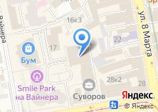 Компания «Международный университет фитнес-индустрии» на карте