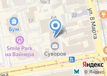 Компания «ИнтеллектСистемЛаб - индивидуальное ПО» на карте