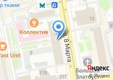 Компания «АА Бюро Мой горящий тур» на карте