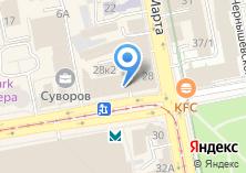 Компания «Телевизор» на карте