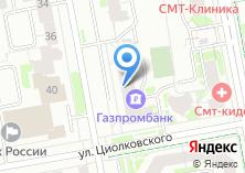 Компания «Банкомат ЧЕЛИНДБАНК» на карте