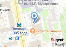 Компания «Агентство по развитию рынка продовольствия Свердловской области» на карте