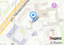 Компания «Банкомат Банк Москвы Екатеринбургский филиал» на карте