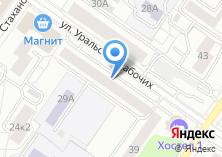 Компания «Ателье №1» на карте