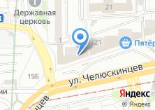 Компания «Золото 585» на карте