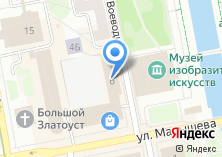 Компания «Екатеринбургская автомобильная школа ДОСААФ России» на карте