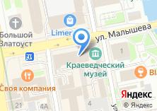 Компания «Министерство культуры Свердловской области» на карте